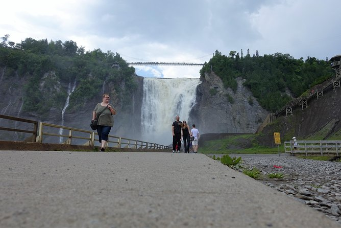 Bike Tour to Montmorency Falls from Quebec City, Quebec, CANADA