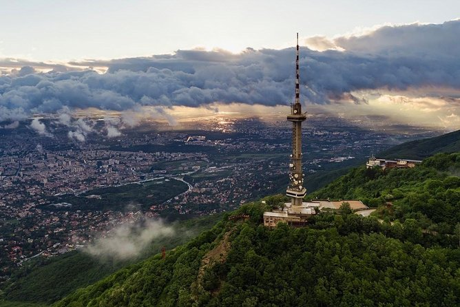 Kopitoto TV Tower viewpoint over Sofia tour, Plovdiv, BULGARIA