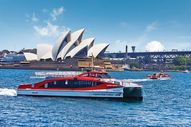 Combine two great Sydney experiences into one with a hop-on hop off Sydney Harbour cruise and a hop-on hop-off city bus tour. The ferry pass is valid for 2-days and the Premium Big Bus ticket is valid for 48-hours. Explore Sydney and Bondi aboard an open-top double-decker bus and visit sites such as the Sydney Opera House, The Rocks, Chinatown and the Royal Botanic Gardens. On your Sydney Harbour cruise, ferry ticket covers travel between Circular Quay, Taronga Zoo, Watsons Bay, Shark Island and Manly.. This is the perfect way to experience the best of Sydney!