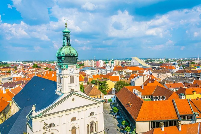 Visit the Danube Bend area, the scenic town of Győr, and the Basilica of Esztergom on your transfer from Bratislava to Budapest.<br><br>Join our fun and easy-going road trip from Bratislava to Budapest. We travel through the countryside and enjoy the atmosphere of the cute little towns of Győr and Szentendre with views to the Danube River always on our side. We'll bring you to places you'd never visit in one day and help you discover the Hungarian and Slovakian countryside in the best possible way.<br><br>Our knowledgeable local tour guides take a small group, maximum of 15 people, for a fun-filled 10-hour road trip from Bratislava to Budapest. You will learn about the history, culture, and most importantly the people of Hungary and Slovakia.<br><br>This tour is available for opposite direction at: