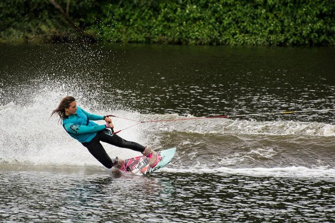 Wake Boarding in Bentota, Kalutara, Sri Lanka