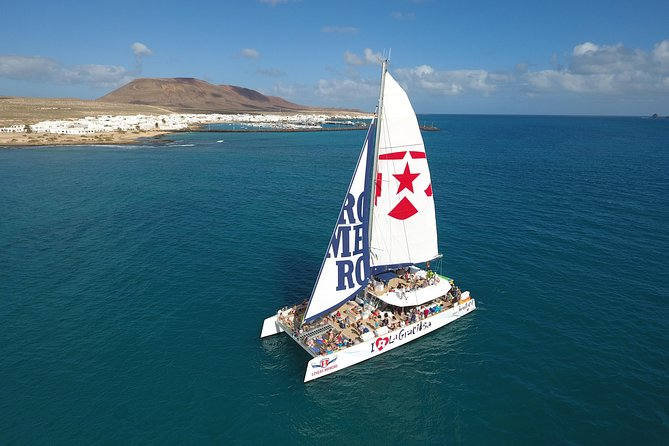 Day Trip to the island La Graciosa from Lanzarote. Spend a wonderful day sailing on a beautiful catamaran to La Graciosa. Paella and drinks included.