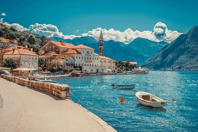 """Departure from Herceg Novi is scheduled for 08:00. After leaving the bus station, the road continues along one of the most beautiful bays in the world, Boka Kotorska. At the bottom of the Cape Verge Bay, a 15-minute break is planned, from where we continue to drive to Kotor. Arrival to Kotor is planned around 09:00. During the tour of the old town you will have the opportunity to see the cathedral of Sv. Tripuna, which is a symbol of the city of Kotor, the Maritime Museum, as well as the climb to the city walls from where it offers a fantastic view. After the visit to Perast, which is the jewel of the Bokocotor Gulf, then the island of Our Lady of Škrpjela, which houses a beautiful 17th century church. IV century before the new era as an Illyrian settlement Rhizon. It was the capital of the entire Bokocotorian Gulf, which even carried its name - """"Sinus Rhizonicus""""."""