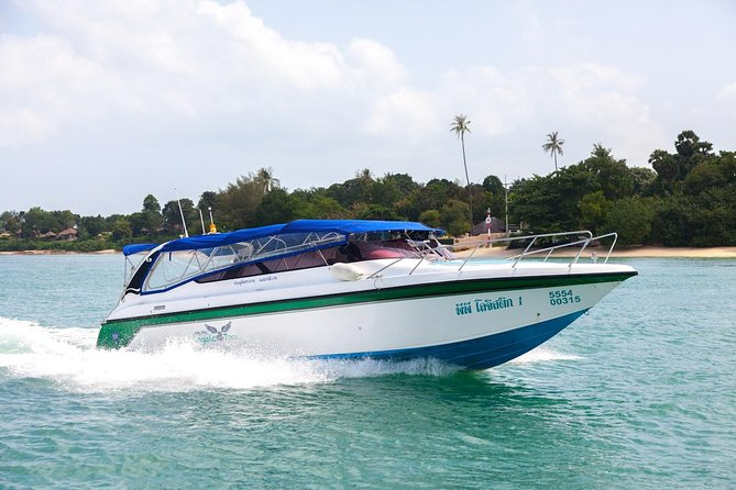Koh Phi Phi to Krabi VIP Speed Boat Transfer with Hotel or Airport Drop-Off, Ko Phi Phi Don, Tailândia