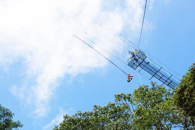 100% Adventure Park Combo: Zipline, Superman, and Mega Tarzan Tour in Monteverde, Monteverde, COSTA RICA