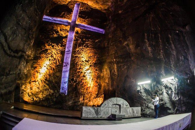 Transportation to the Zipaquira Salt Cathedral and Guatavita Lagoon, Bogota, COLOMBIA