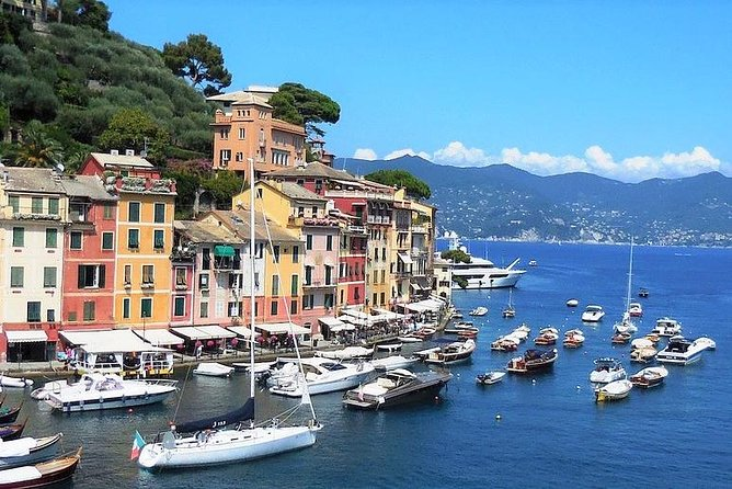 """During your journey in Genoa you can't miss a day trip to Portofino and Santa Margherita Ligure. <br><br>A drive will pick you up in Genoa, at your hotel or at the port, and he will take you first to the charming Portofino. Once arrived go ahead and walk around the main square """"La Piazzetta"""", and then go up to Saint George's church and the Brown's Castle, where you can admire one of the most exclusive views of the Ligurian coastline. <br><br>Enjoy your lunch in Portofino and then, you will be taken to Santa Margherita Ligure. It is a lovely fishermen village, with antique house and modern luxurious hotels. Relax while eating """"gelato"""", the italian ice cream, and walk through the streets of """"Santa"""", as it is called from locals. <br><br>At the end of your tour your driver will take you back to Genoa, while you will keep memories of this wonderful day very longer!"""