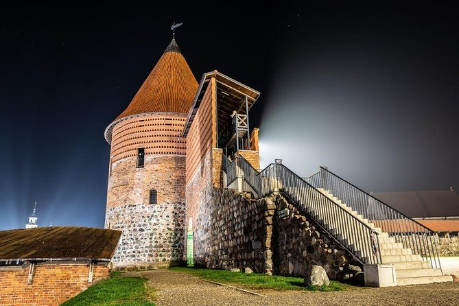 The rumors about tinkling chains in the catacombs of Kaunas Castle are just a small part of the mystery that surrounds Kaunas Old Town. On a 2-hour ghost tour, you'll walk through the historic area and hear even more legends, and about ghosts coming out after darkness falls to tell their secrets.<br><br>You'll hear about the cruel punishments that awaited those who ran afoul of city officials, bloody fights between Catholics and Lutherans, vandalism, theft of the city treasury, and Jewish-Catholic troubles that ended in massacre.<br><br>See where the famous Kaunas smuggler lived, learn about the dirty practices of the St. Casimir Society, and hear some strange stories about witch hunting!