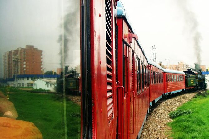 Classic steam train ticket from Bogota to Zipaquira with optional transportation, Bogota, COLOMBIA