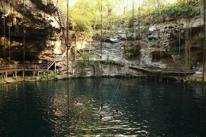 Ek Balam and Cenote, ,