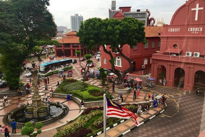 Join us on one of our popular day excursion to the historical state of Malacca. This UNESCO World Heritage site was once a great sea port where the Portuguese, Dutch and English once ruled. The tour covers a visit to the St.Paul's hill for a view of the straits and the ruins of St.Paul's Church; the oldest church in South East Asia. Our next stop is at the Dutch Square, the focal point of several historical monuments and sites in the state. The square is also known as the Red Square because most of the area has been painted red. This area is extremely photogenic so make sure your camera battery is fully charged. We will then stroll along the festive Jonkers Street for some light shopping and local lunch. We will then explore Malacca's Harmony street; the only street in Malaysia where you may find 3 types of worship houses; a Hindhu Temple, a Buddhist temple and a Muslim Mosque. Finally, we will visit a traditional Malay house. Finish your excursion with a ride back to Kuala Lumpur.