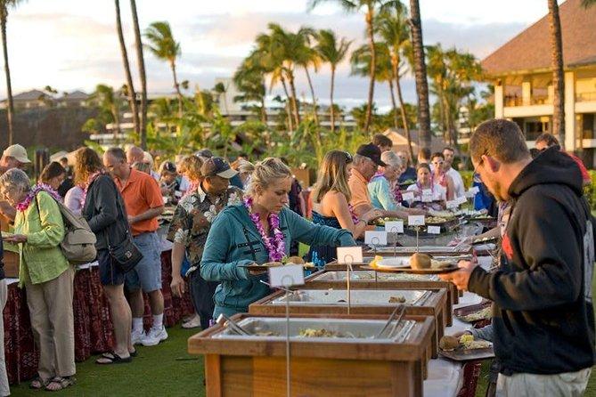 Luau de Kaanapali ao pôr do sol em Maui, Maui, HI, ESTADOS UNIDOS