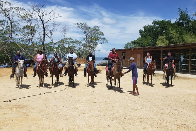 Roatan Combo Tour: Jungle Horseback Riding and Beach Break, Roatan, HONDURAS