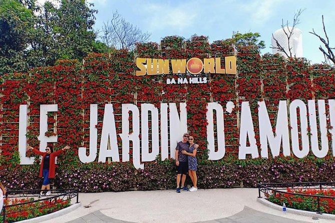 GOLDEN BRIDGE & BA NA HILL via CABLE CAR from DA NANG or HOI AN (Private Tour), ,