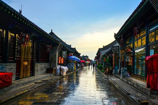 2-Day Pingyao Private Tour: Ancient Town and Shuanglin Temple by High-Speed Train from Xi'an, Sian, CHINA