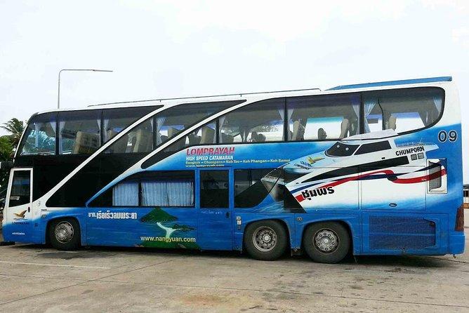 Koh Tao to Bangkok by Lomprayah High Speed Catamaran and Coach, Ko Tao, TAILANDIA