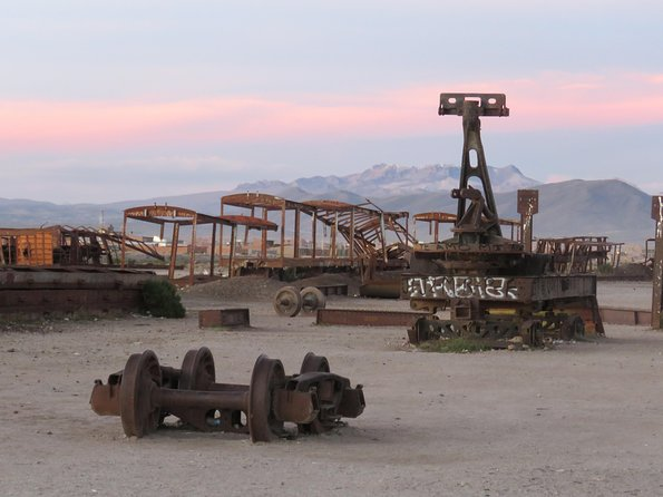 Private Visit to the old Mines and trains of Pulacayo, Uyuni, BOLIVIA