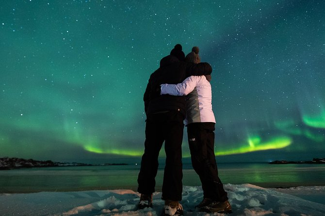 "The perfect tour for Aurora lovers. This is a very dynamic excursion perfect for those who want to ""chase"" the Northern Lights.<br><br>This 5-hour evening tour offers the experience of a narrative guide and professional photographer, and when the aurora will appear<br><br>he'll be able to capture the magic on camera.<br><br>With the help of your guide, a professional photographer, you will also learn how to set up your camera and tripod (tripods available; let your guide know in advance) to capture the Northern Lights and take some unforgettable photos against a backdrop of the windswept bays, glassy lagoons, and looming peaks of the remote Lofoten archipelago.<br><br>All the pictures taken by us, will be sent the day after without any additional cost."