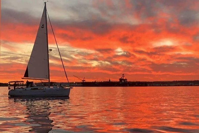 Enjoy an evening sailing under the sunset on a relaxing sailing cruise with a unique perspective on San Diego that you can only get from the water. Our San Diego Bay Sunset Sailing Cruises provide an up-close and personal view of the scenic waterfront architecture, military crafts, historical ship's and landmarks, local sea life and spectacular photo opportunities.
