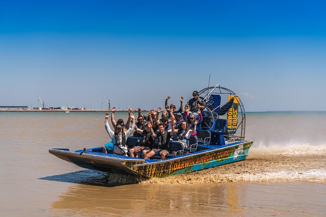 "Designed by Matt Wright, esteemed tourism operator and National Geographic's ""Outback<br><br>Wrangler"", Darwin Airboat Tours is all about fun and adventure! We deliver a unique, bucket list experience that people of all ages can enjoy from Darwin City!<br>"