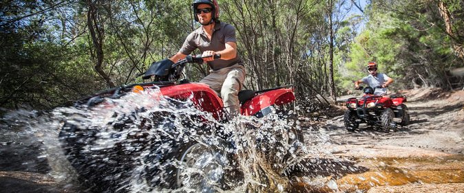 Enjoy the adventure of riding your own Quad bike with a small-group to remote areas of Freycinet National Park. Spend 2-hours exploring the stunning white beaches and striking granite peaks along with a guide and includes refreshments. Choose from one of two departure times when you book.