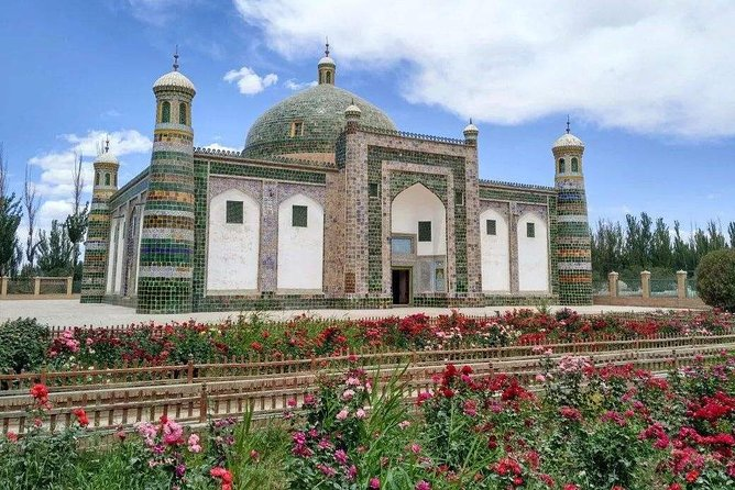 Join this 2 days private tour to explore Turpan and Kashgar from Urumqi. Spend a day in Turpan and have the flexible customized tour by choose 2 attractions interested you most, such as Jiaohe Ancient City and Karez Irrigation System, then take the evening flight to Kashgar. Explore the most attractive historical sites next day:  Id Kah Mosque ,Apak Hoja Tomb and the Kashgar Old Town. Afterwards take the evening flight back to Urumqi. Experience the friendly services of the local tour guide who will accompany you throughout the attractions, and explore the landmarks at your own pace. Tour includes English speaking tour guide, private vehicle, all entrance fee and lunch, Turpan - Kashgar -Urumqi Plane Tickets. Please book your own hotel in Kashgar.