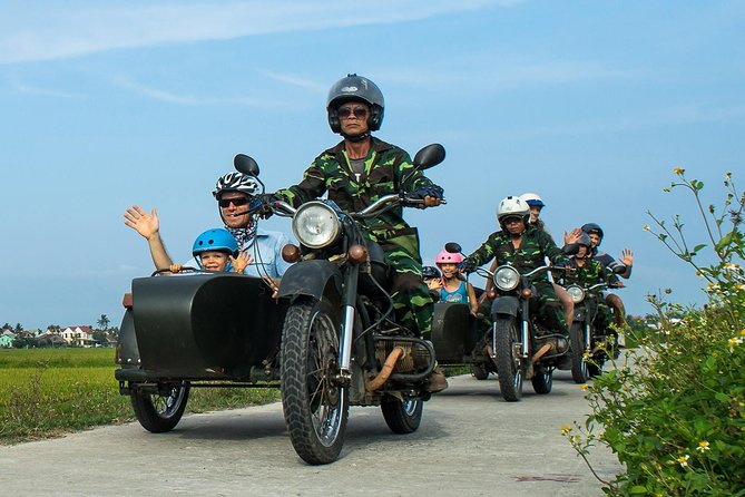 Morning Hoi An countryside tour by sidecar, Hoi An, VIETNAM