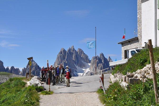 Viagem diurna para grupos pequenos até as Montanhas Dolomitas e Cortina saindo de Veneza, Veneza, Itália