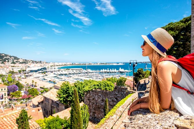 "See the best of the French Riviera on a full-day sightseeing tour<br>Following pickup from your hotel, begin by stopping on the Moyenne Corniche to enjoy the panoramic view of Villefranche and St-Jean-Cap-Ferrat<br>Then your guide will take you to visit the medieval village of Eze, to admire the splendid panorama and discover the secrets of perfume with a free guided visit to the Fragonard<br>Next sight will be the Principality of Monaco and have the time to see the old town, the cathedral, the palace and the changing of the guards. Drive along the Formula 1 track to rich Monte Carlo with its famous Casino<br>Next, you'll go to Antibes. This tourist-oriented city combines nautical traditions and pleasures. You will visit tthe largest luxury marina of Europe<br>The last destination will be the famous city of the stars ""Cannes"". Walk along the famous ""Croisette"", enjoy the luxury hotels and shops. And most important: Step on the famous film festival red carpet, just like Hollywood stars"