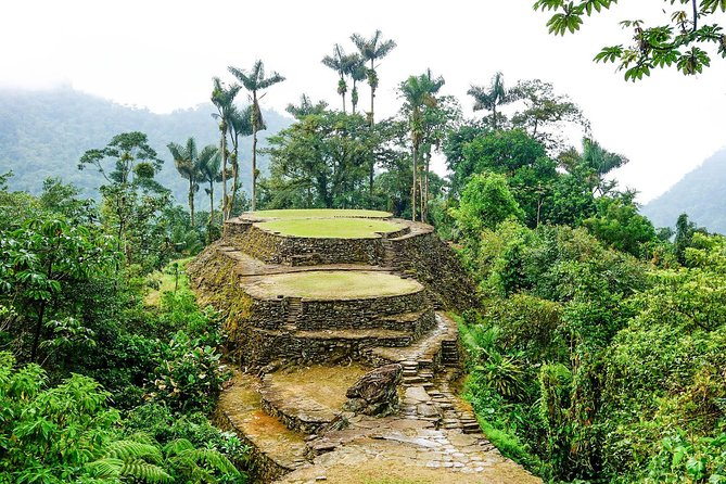 Trek through the jungle to Ciudad Perida, Colombia's 'Lost City' in the Sierra Nevada, the mountain range outside Santa Marta. This 'into the wild' experience will have you trekking over rivers and alongside waterfalls for four, five or six days as you make your way to the ancient archaeological site, founded by an indigenous culture around the 9th century. This outdoor adventure can be tough — you'll walk up to several hours each day — but worth it for the amazing experience of getting 'lost' in the jungle and finally arriving at the extraordinary Ciudad Perdida, surrounded by lush mountain foliage.