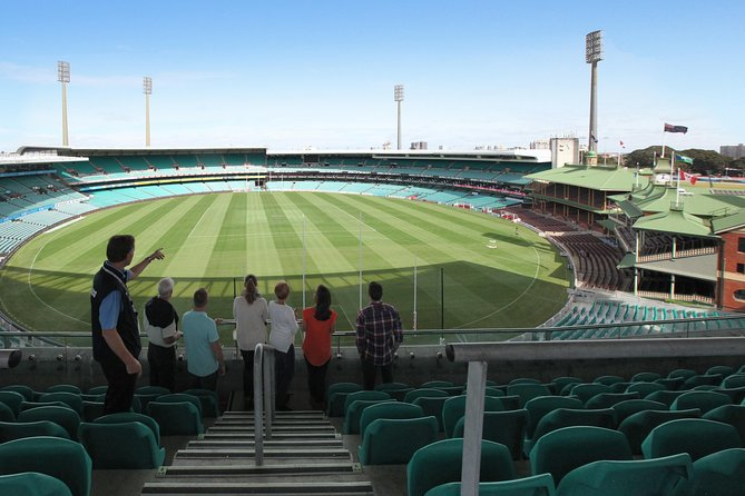 Tread the Path of Champions - unforgettable for locals, international visitors and sports fans of all ages<br><br>This 90-minute BEHIND THE SCENES guided walking tour offers a dynamic, journey through the Sydney Cricket Ground (SCG) precinct and the SCG Museum.