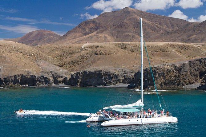Catlanza: navegación en catamarán en Fuerteventura, Fuerteventura, ESPAÑA