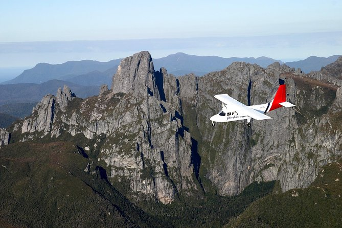 Fly to Southwest National Park, Tasmania's largest national park, and discover the beauty of this Tasmanian Wilderness World Heritage Area. Enjoy views of Hobart and Tasmania's remote southwest on your flight to the national park, and take a scenic cruise out to Bathurst Harbour, a remote waterway three times the size of Sydney Harbour.  <br><br>All tours include two spectacular scenic flights, a boat cruise to Bathurst Harbour and lunch including Tasmanian produce and wine.
