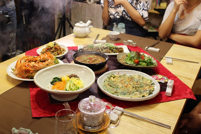 Experiencia de cocina tradicional en una casa de estilo coreano en Seúl, Seul, COREA DEL SUR