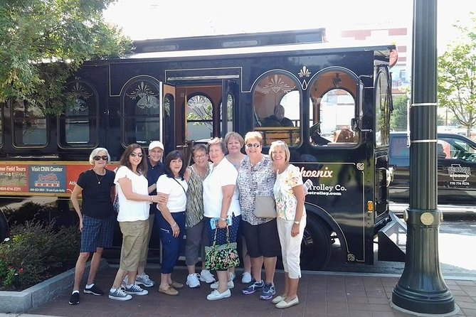 """The Peachtree Trolley is simply the best way to see the sights and get acquainted with the city known as The Capital of the South. The trolley will provide 90 minute fully-narrated tours originating near Centennial Olympic Park and will introduce you to the """"Must-Sees"""" of Atlanta."""