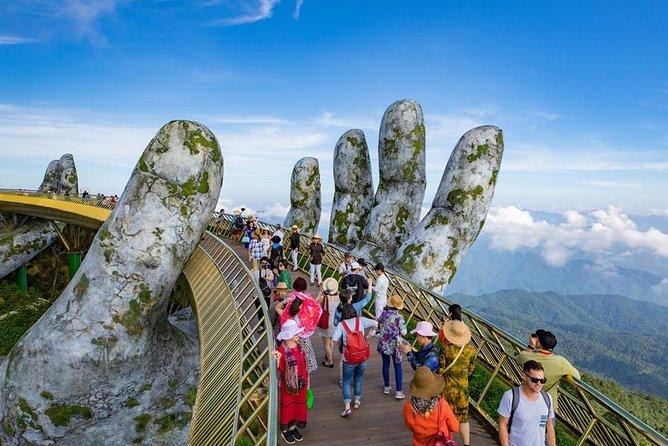 Vietnam Golden Bridge - Ba Na Hills Day Tour from Da Nang or Hoi An, Da Nang, VIETNAM
