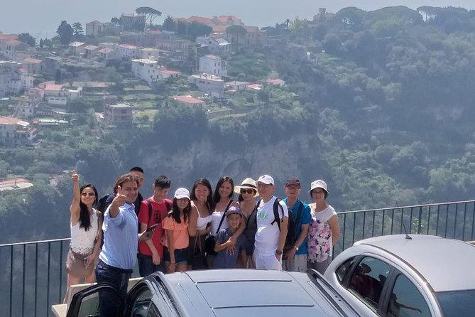 Positano, Amalfi and Ravello in a Private Day Tour from Naples or Sorrento, Amalfi, ITALIA