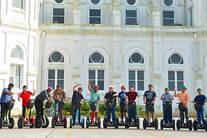 """On the Magical History Tour, our experienced tour guides will take you on a tremendous Segway journey. We'll start with the famous downtown area of Galveston – the Strand Historic District. For a time, it was also known as """"The Wall Street of the South."""""""