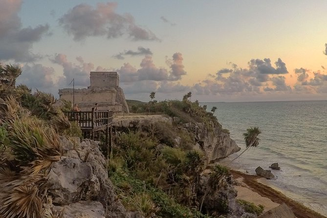 Sunrise at Tulum Ruins and Kaan Luum, Tulum, Mexico