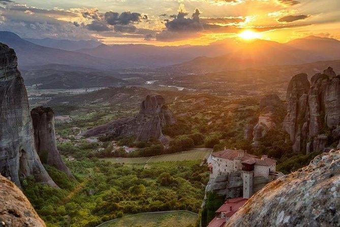 Amazing Meteora Sunset, Meteora, GRECIA