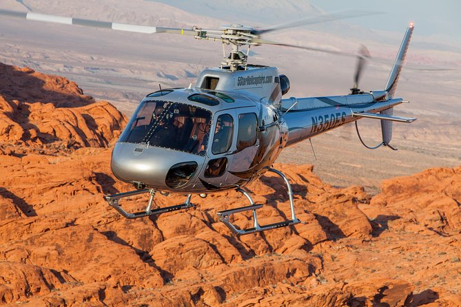 On this 70-minute helicopter tour, you'll see Lake Mead, Hoover Dam and the majestic Grand Canyon. You'll feel awe and exhilaration as you fly like a bird on the longest and most extensive air-only helicopter tour there is from Las Vegas, taking you along the rim into the mysterious depths of the Grand Canyon.