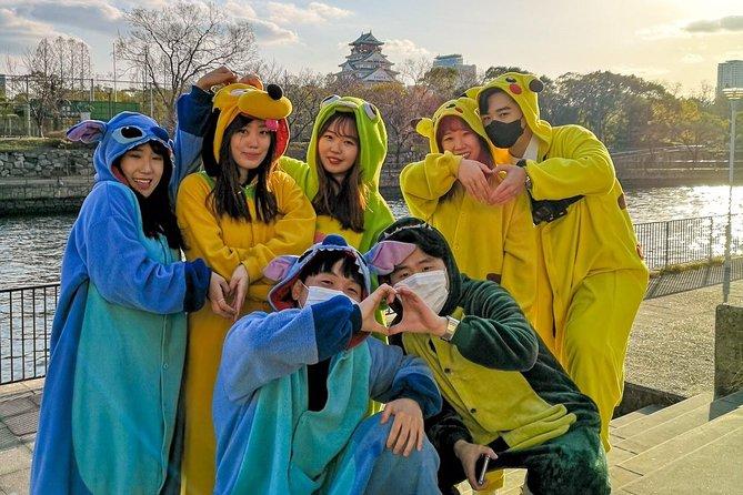 Street Osaka GoKart Tour with Funny Costume Rental, Osaka, JAPON