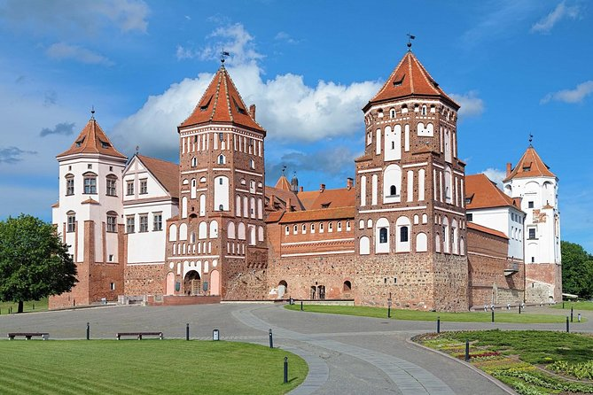 Find out more about history of Belarus during this sightseeing tour to Mir Castle, Nesvizh Castle, and Brest Fortress. An ideal trip for first-time visitors to Belarus who want an overview of Belarussian history and culture. You'll have the freedom to explore these sites independently and at your own pace.