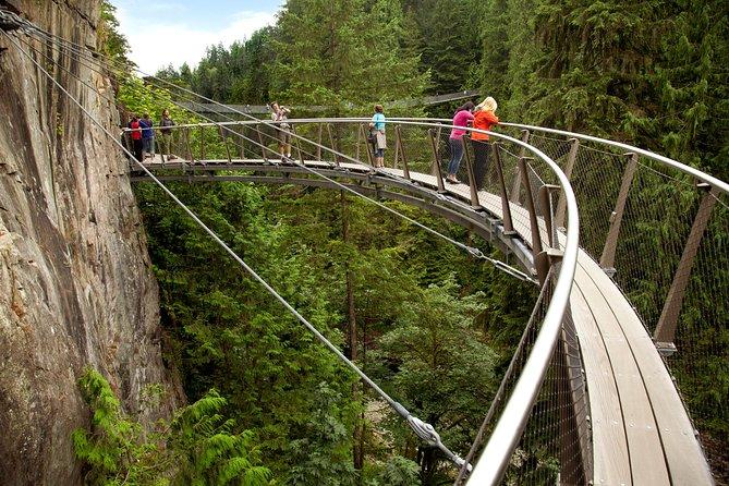 Recorrido por Grouse Mountain y por el parque del puente colgante de Capilano, Vancouver, CANADA