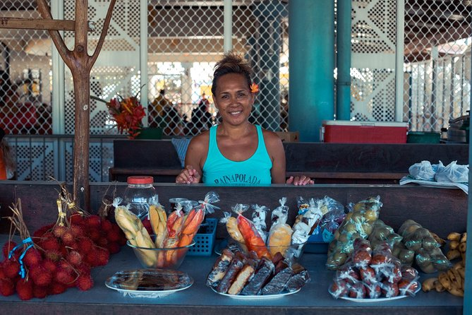 Step into the slippers of a local  as we snack our way around Moorea with your local guide Heimata who was born and raised on Moorea.  Tama'a means to eat in Tahitian and we will be doing just that as you and your taste buds discover Moorea. <br><br>During your food tour you will taste and visit authentic local finds that will offer unique flavors where locals like to eat.  The food in Tahiti consists of three cultures, Tahitian, Chinese, and French.  On the Tama'a street food tour we will seek out hidden food gems from all three backgrounds.   <br><br>Guest will experience 6-8 tastings, depending on season and availability.  The tour will take between 4-5 hours. <br><br>We will also stop at some breathtaking sites, and get a little cultural history of the island.   <br><br>Come join us for a unique Moorea experience with Moorea Food adventures, and learn about the Moorea culinary scene.