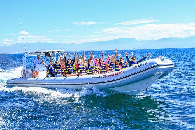 Recorrido de tirolina y aventura en lancha motora en Puerto Vallarta: Los Veranos, Puerto Vallarta, MEXICO