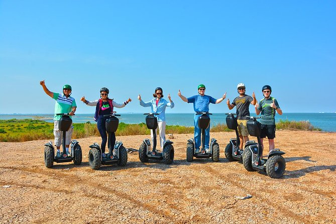 Experience the marvelous sunset over Galveston with a local & certified tour guide, by driving a Segway through the Seawall. Photograph these beautiful moments to keep as remembrances.