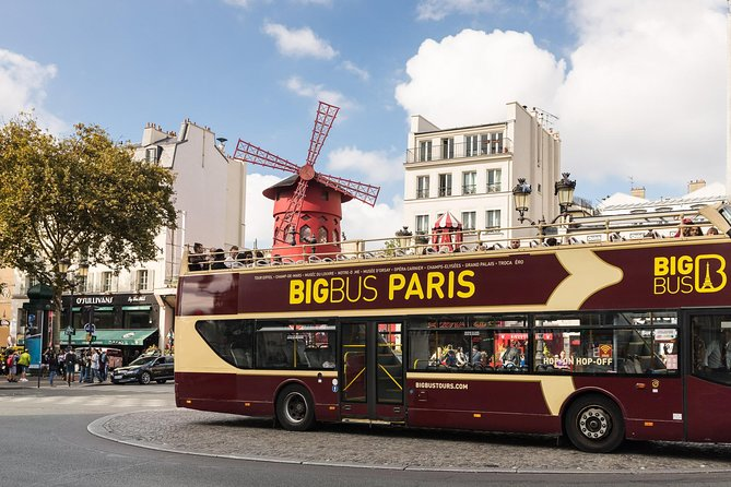 Big Bus Paris Hop-On Hop-Off Tour, Paris, FRANCE