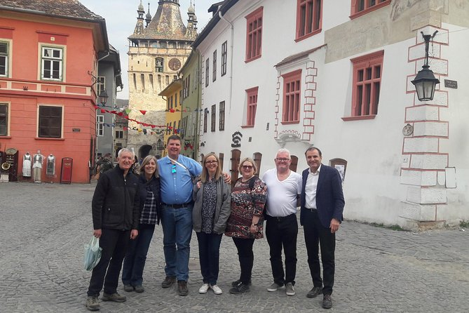 In this tour we will visit 3 of the oldest and most beautiful historical sites in Transylvania.<br><br>We will visit the village of Saxon Viscri, with rustic streets and beautifully colored Saxon houses. We will climb the hill and visit the fortified white church, hence the name of the village of Viscri (the White Church).<br><br>Then we'll head to Sighisoara, the city played an important strategic and commercial role at the edges of Cetral Europe for several centuries.Old medieval houses with a beautiful architecture, narrow streets with brightly colored houses will come back in time and make you feel like princesses and princes (see Vlad Tepes) who lived in the city.<br><br>The fortified church in Biertan, with its three defensive walls, will help us to understand the skill and mastery of the Saxon colonists .We will walk the threshold of the divorce house where the families of the Saxon settlers find their reconciliation.