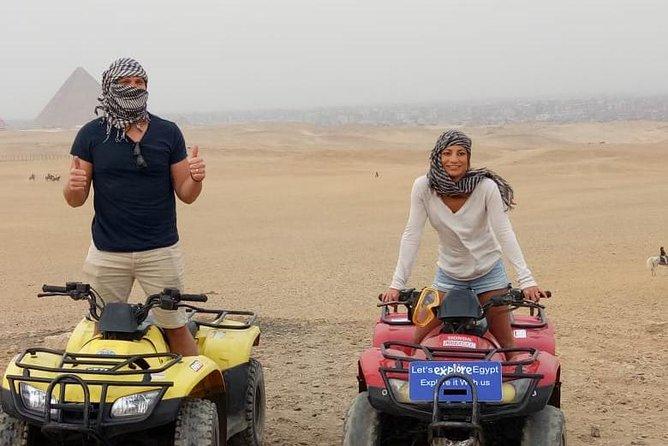 Guided Tour to Giza Pyramids with 90 Minute Quad Bike, Guiza, EGIPTO